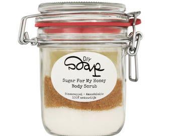 DIY Package Sugar For My Honey Body Scrub