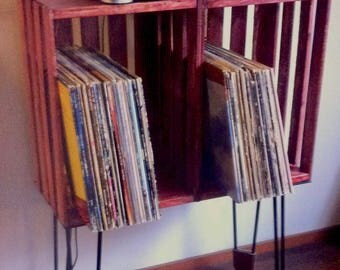 record player stand