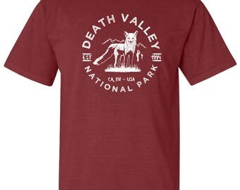 Death Valley National Park Adventure Comfort Colors TShirt