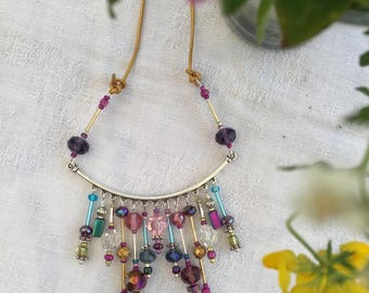 Art Beaded Necklace