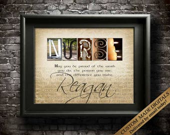 Nurse Gift, Nurse Appreciation, Nurse Gifts, Personalized Nurse Gift Ideas, Gift for Nurses, Gift for Nurse Quotes, Nursing Gifts PRINTABLE