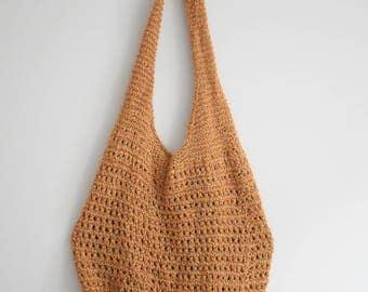 Vintage Woven Net Bag