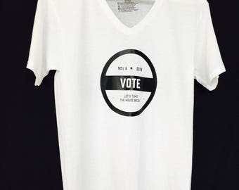 VOTE NOVEMBER 2018- Let's Take The House Back!  Make a statement with this Men T-shirt