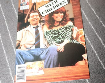 Al and Peggy Bundy Married With Children Comic #2 Vintage Christina Applegate