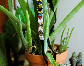 Native Hand Beaded Choker