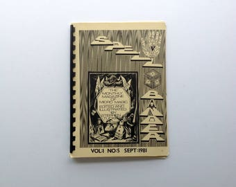 Spellbinder Edited and Illustrated by Stephen Tucker - Volume 1 Number 5 - September   1981
