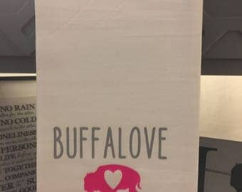 Buffalove Tea Towel