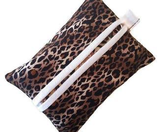 Tissue Case, Travel Tissue Case, Pocket Tissue Case, Tissue Cover, Leopard Accessories, Purse Tissue Holder, Tissue Holder, Travel Tissue