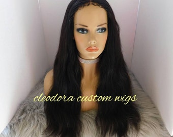 Wig Vera/Made to order/Handmade Custom Authentic Raw Cambodian Virgin Human Hair wig/Get a recreation of this our Clients custom order.