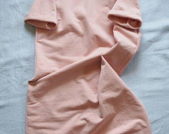 Light pink sweatshirt dress, size M