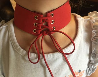Choker RED or Black