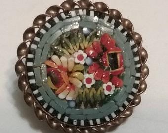 Italy Mini Micro Mosaic Pin