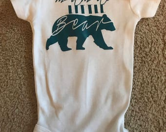 Mama's Little Bear Onesie
