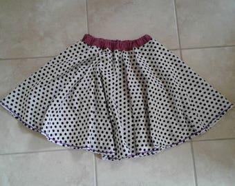 Polkadot Circle Skirt