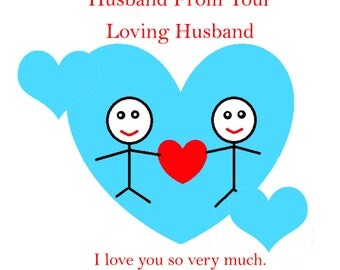 Husband Valentines Day Card from your Husband 1