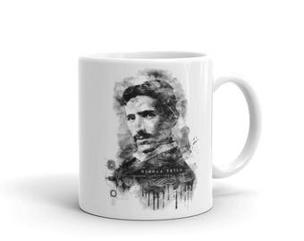 Nikola Tesla Mug | Inventor Genius Gift Idea