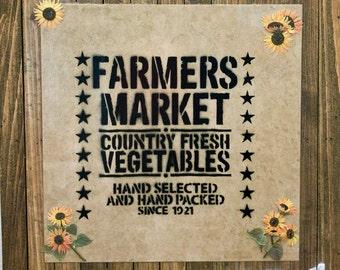 Farmers Market Board