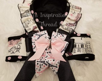 Eiffel Inspiration small dog step in harness