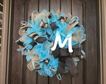 Miss Monogram Wreath by Miss Mazie