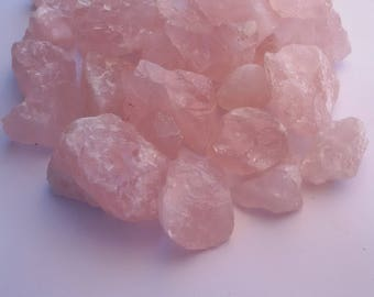 SALE Raw Rose Quartz  crystal Buy 2 get 1 Free - healing crystal - Rose Quartz - Chakra - Love