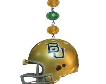 BAYLOR UNIVERSITY *Helmet* MAGNETIC Ornament,Baylor Decor,Baylor Bears Decor,Baylor Ornament,Baylor Football,Sic Em Bears,Bu