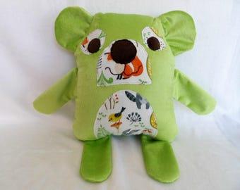 Hug Me, Teddy Bear, Anti-stress cushion, Stuffed animal plushie, Stress relief gift, pillow buddy, anxiety relief bear, nursery decor