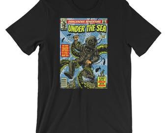 Comic Book Series: Under The Sea Short-Sleeve Unisex T-Shirt