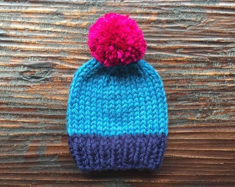 """Toddler """"Classic Super Bulky Knit Hat"""""""
