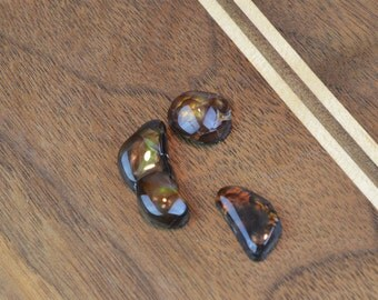 Fireagate Cabochons, Custom Shapes, Handcrafted