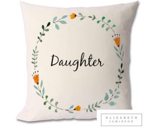 personalised cushion, personalised pillow, personalised gift, custom cushion, name cushion, family cushion, personalised family