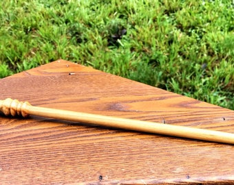 Exotic Canary Wood Wizard Wand