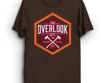 The Overlook - Stephen King T-Shirt   Horror Shirt   Movie T-Shirt