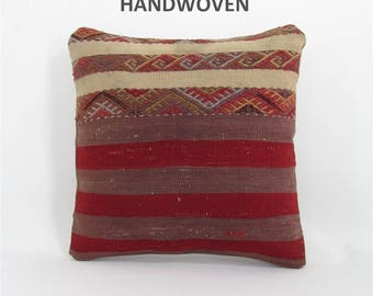 antique kilim pillow cover turkish pillow designer cushion sham throw pillow decorative pillow home decor 000973