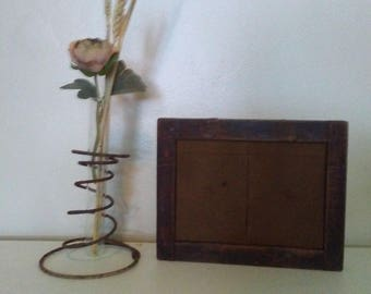 Antique Developing Picture Frame