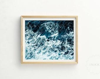 Swell Print | Coast Print | Wave Print | Sea Print | Coast Art | Sea Art | Coast Photography | Wave Print | Contemporary Print | Printable