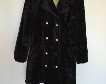 Vintage Plush Velvet Coat