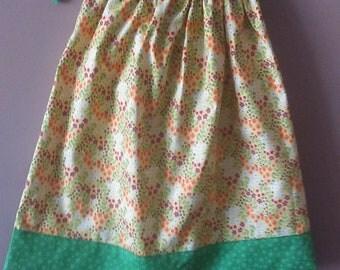 yellow summer dress,summer dress for little girls,