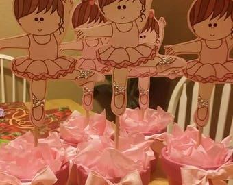 Ballerina INSPIRED hand cut cutouts