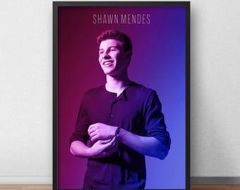 Shawn Mendes Poster, Shawn Mendes, Shawn Mendes Art, Shawn Mendes Photo, Music Poster, Shawn Mendes Gift, Gift, Wall Art