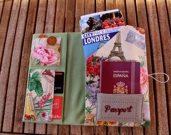 "Document Holder Travel ""Paris""-Travel Wallet"