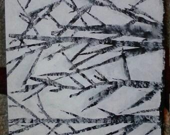 Birch Trees (framed-frame not shown)