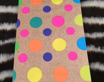 Luxury hand covered note book