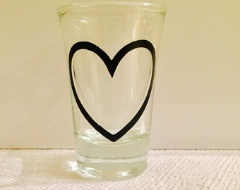 Heart Shot Glass