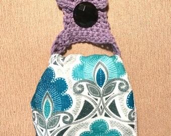 Lilac Kitchen Towel Holder