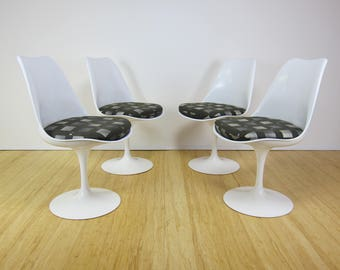 Knoll Eero Saarinen Tulip Armless Chairs *Set of 4*