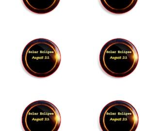 Solar Eclipse Pins