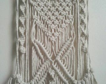 """Unique macrame wall hanging  """"Maiden 5"""" * free postage in Australia"""