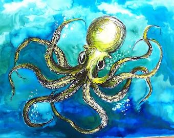 Deep Sea Octopus