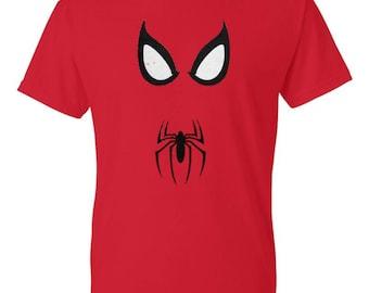 Minimalist Spiderman Shirt - Spider Man Shirt - Red Spider Man Shirt - Marvel Shirt