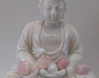Quartz pink 15 gr stone heart chakra, healing, meditation, stone of love